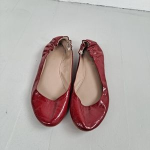 Massimo Supply Red Ballot Flats Size 10